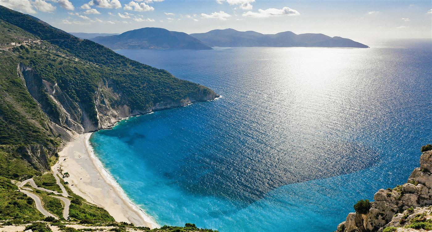 mirtos beach kefaloniatravel